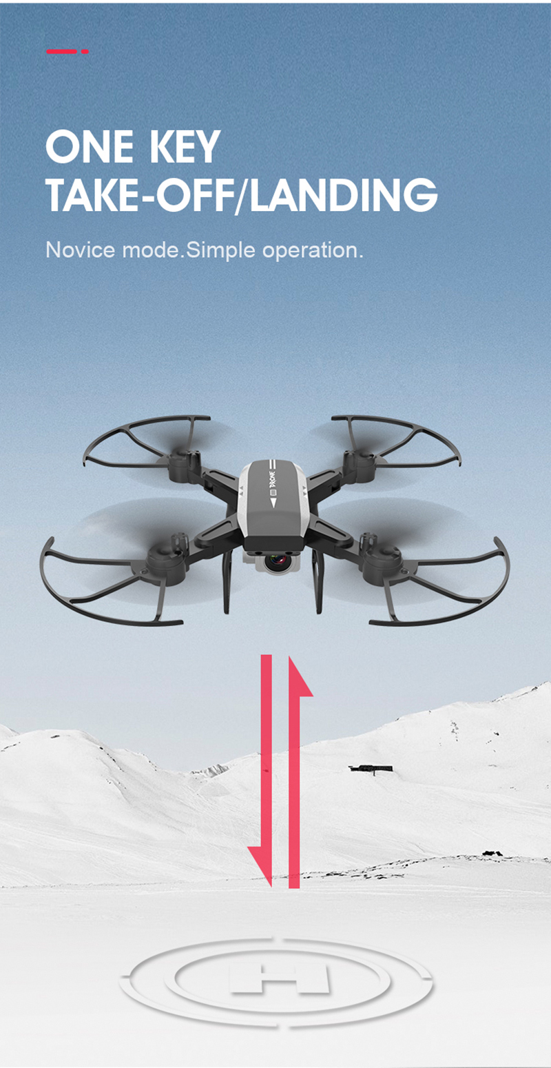 Electric Drone with Aerial Camera