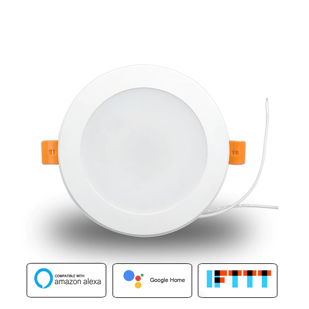 4 inch WiFi RGBW LED Voice Control Light